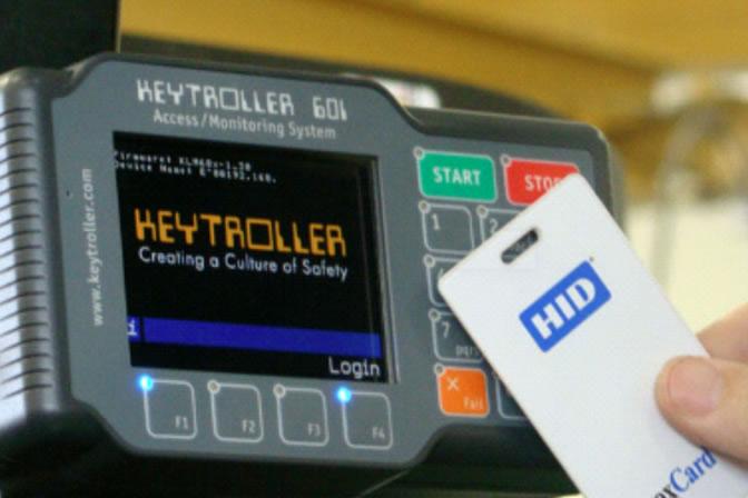 Access via Company Keycards / PIN