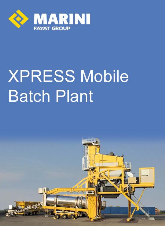 XPRESS Mobile Batch Plant
